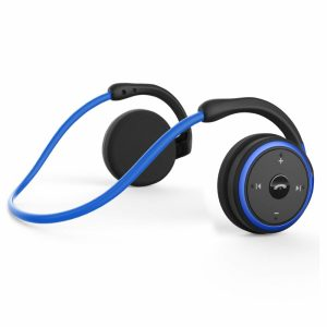 Levin Small Black-Blue Bluetooth Headphones