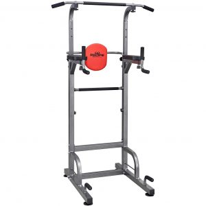 Multifunctional dip station for multiple exercises